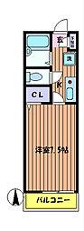 ブランメゾン 日野[2階]の間取り