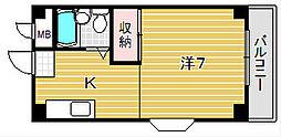 ハイライフノグチ[305号室]の間取り