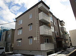 北海道札幌市東区北二十条東17丁目の賃貸アパートの外観