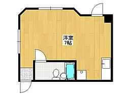 ベンシティマンション[3階]の間取り
