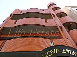 NOVA上町台3[3階]の外観