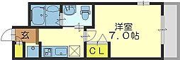 M'プラザ小阪駅前[3階]の間取り