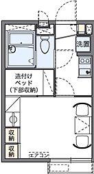埼玉県さいたま市大宮区高鼻町1丁目の賃貸アパートの間取り