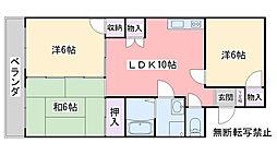グランドHマンション[305号室]の間取り
