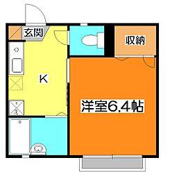 エポニール[2階]の間取り