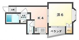 菊水パレス[2階]の間取り