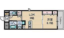 フィールドライト新大阪[3階]の間取り