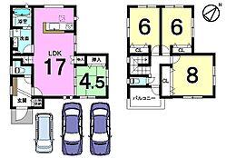 駐車3台可能。三方角地の物件です。お気軽にお問合せ下さい
