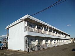 東京都西多摩郡瑞穂町大字殿ケ谷の賃貸マンションの外観