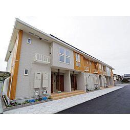 奈良県橿原市西池尻町の賃貸アパートの外観