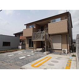 埼玉県八潮市八條の賃貸アパートの外観