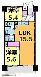 検見川ハイム2号棟 1017号室