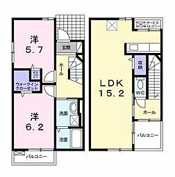 ソレイユ TAKADA[1階]の間取り