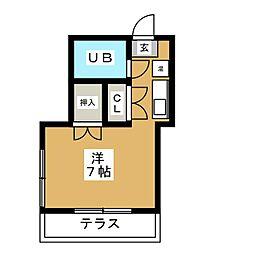 アートライフワカタケ[1階]の間取り