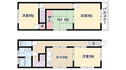 [一戸建] 愛知県名古屋市瑞穂区十六町2丁目 の賃貸【/】の間取り