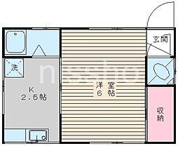 7571-憩ハウスA[1階]の間取り