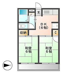 佐藤第一ビル[5階]の間取り