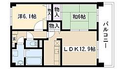 [テラスハウス] 大阪府摂津市千里丘2丁目 の賃貸【/】の間取り