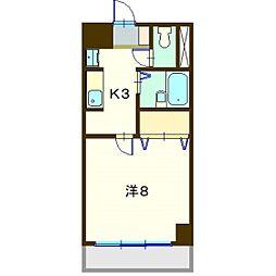ガーデンハウスSK[204号室]の間取り