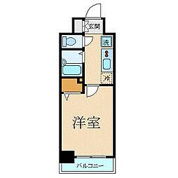菱和パレス御茶ノ水湯島天神町(リョウワパレスオチャノミズユシ[7階]の間取り