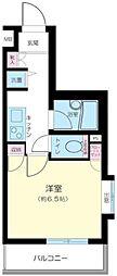 プレール・ドゥーク西新宿[208号室号室]の間取り