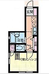 アーヴェル桜木町[1階]の間取り