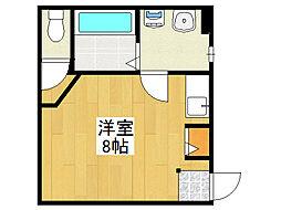 ゴッホビルII[1階]の間取り