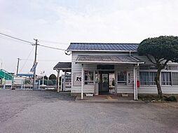 駅下菅谷駅まで...