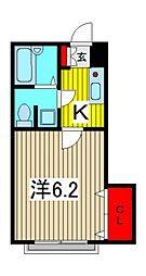 グリーンハイム壱番館[1階]の間取り