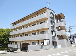 広島県東広島市西条町田口の賃貸マンションの外観