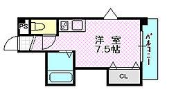 ダゼアマンション[7階]の間取り