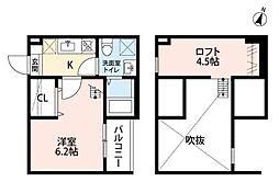 ソナトーレ小幡南[1階]の間取り