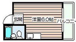 ウィン天六 北館[5階]の間取り