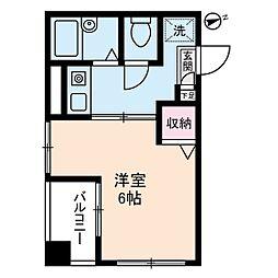 TS1[3階]の間取り