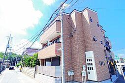 東京都東村山市秋津町5丁目の賃貸アパートの外観