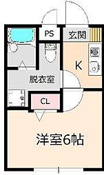 La Sua Casa.M[1階]の間取り