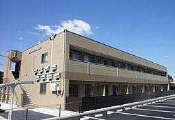 福岡県飯塚市小正の賃貸アパートの外観