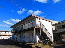 滋賀県草津市西矢倉3丁目の賃貸アパートの外観