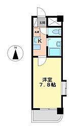 プリマヴェール六番町[5階]の間取り