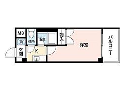 メイワマンション[3階]の間取り