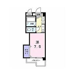 アビタシオン柳町[3階]の間取り
