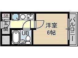 セルフハイム茨木[2階]の間取り