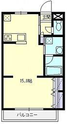 ランドール坂戸[1階]の間取り