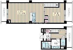 1517−ワイズガーデン[309号室]の間取り