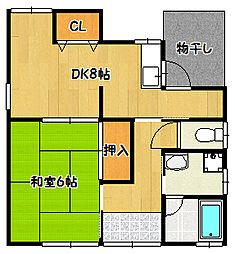 [一戸建] 兵庫県神戸市兵庫区梅元町 の賃貸【/】の間取り