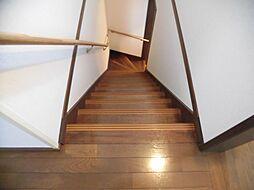 階段フローリン...