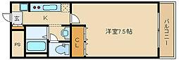 フィールド ビレッジ[1階]の間取り