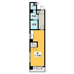 ドムス本山[2階]の間取り