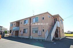 岡山県岡山市東区松新町丁目なしの賃貸アパートの外観