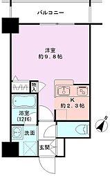 GEO東幸町弐番館[402号室]の間取り